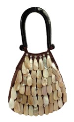 Mad by Design Outer Shell Teardrop Handmade Purse