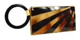 Mad by Design Starburst Mother of Pearl Wristlet Purse