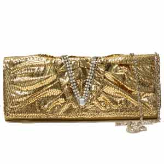 Clutch-Style Evening Bag