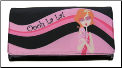 Aliz Licensed 'Hey Poodle' Checkbook Wallet