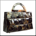 Mother of Pearl 'Waves' Handmade Shell Handbag