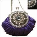 Beaded & Rhinestone Evening Bag