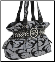 Fashion Signature Purse with Rhinestones