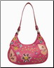 Aliz Flower and Butterfly Hobo