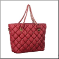 Quilted Diamond Tote